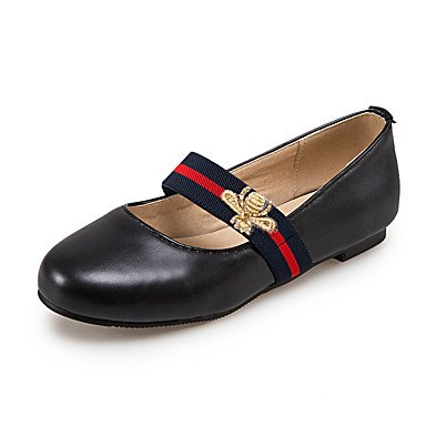 verano comodidad Heel soporte piel Chunky invierno blanco y de zapatos rojo las elegante de oficina carrera sintética otoño azul pisos lazo casual rosa Cómodo vestido primavera blanco y mujeres negro BqvZEw