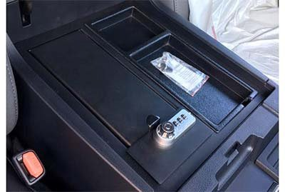 GENUINE TOYOTA TUNDRA GUN SAFE FOR CENTER CONSOLE 00016-34174