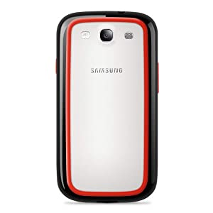 Belkin Surround Case / Cover for Samsung Galaxy S3 / S III (Black / Red) from Belkin