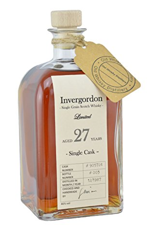 Invergordon - 27 Jahre - 1987 / Highland Single Grain Whisky / handmade (0.7l)