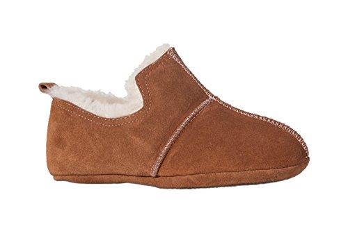 Pantofole In Pelle Di Agnello Fellhof Aladdin, Suola Alta In Gomma Chiusa, Divisa E Antiscivolo Per Signore E Signori