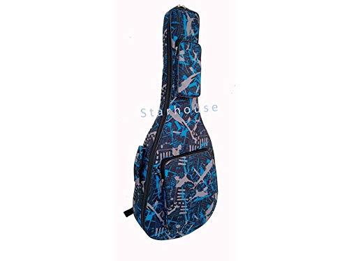 Star-House-Best-Blue-print-Acoustic-Guitar-Bag-fit-for-39-40-41-SIZE-acoustic-guitar