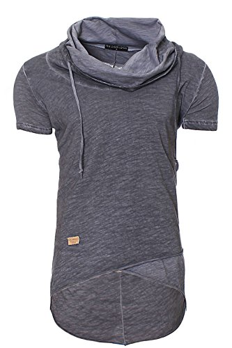 Redbridge Herren Swag Oversize T-shirt Men´s Shirt M1022 anthrazit M