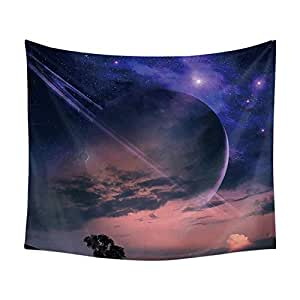 Fantasy Starry Sky Print Scence Wall Tapestry Hanging