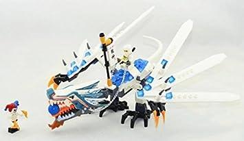 158pcs Ninjago Set Zane Krazi Ice Dragon Attack Ninja ...