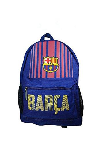 FC Barcelona Official Licensed Messi School Cinch Shoe Soccer Backpack 03 by F.C. Barcelona