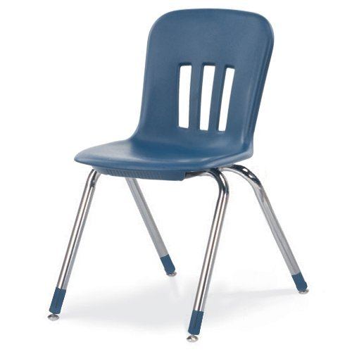 - Virco VIRN91851CHRMCT Metaphor Series Classroom Chair, 18