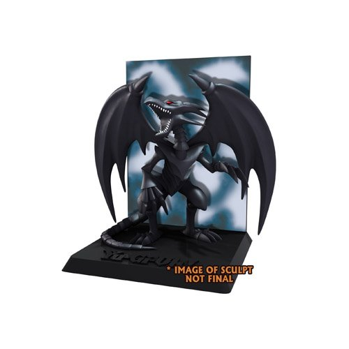 NECA Yu-Gi-Oh - Red Eyes Black Dragon with Deluxe Display 3 3/4