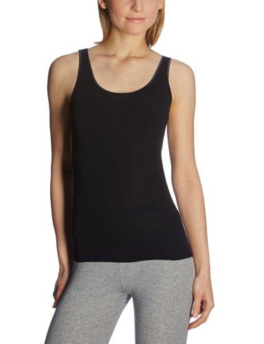 Schiesser - Camiseta para mujer Negro 000