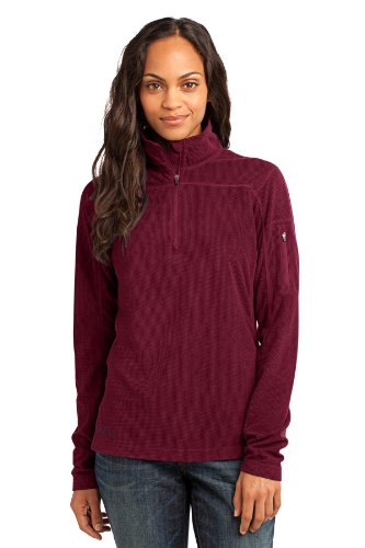 Womens 1/4 Zip Fleece Pullover - 5