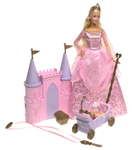 Mattel Barbie and Krissy Princess Palace Playset