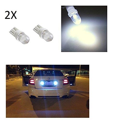 Luces de posició n T10 para coche (2 unidades, faro LED blanco BA10, 6000K, 12 V, 5 W)