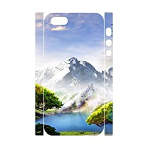 3D Cute For SamSung Galaxy S3 Phone Case Cover Snowy Mountains 3 for Teen Girls, Cute For SamSung Galaxy S3 Phone Case Cover Teen Girls for Teen Girls [White]