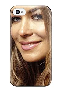 Durable Defender Case For Iphone 4/4s Tpu Cover(carmen Electra 32 Celebrity Carmen-electra People Celebrity)