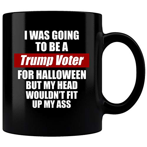SAYOMEN - Political sayings with Trum gift|MUGS33|Coffee Mug| Anti- Trump voter Coffee Mug|Halloween Mug|Anti trump gift|Anti Trump Mug |democrat mug MUG 11oz -