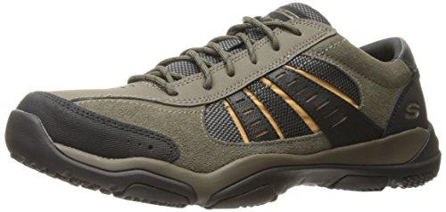 alton Homme Chaussures Marron Running Noir De Skechers Larson olive 57y1fPw