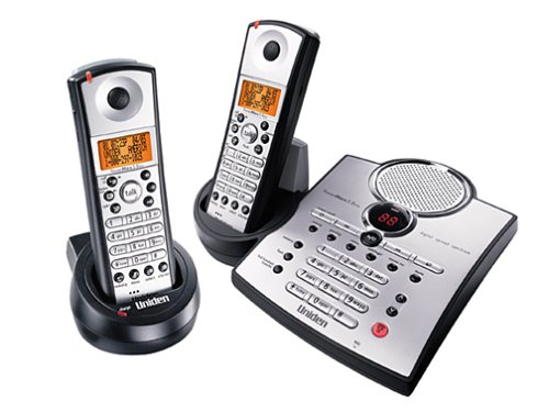 (Uniden TRU5885-2 5.8 GHz Cordless Phone with Caller ID, Answering System, and Dual Handsets)