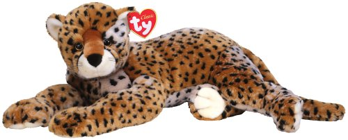 Amazon Com Ty Supersonic Large Cheetah Toys Games