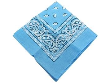 BONAMART ® 6 PCS Paisley Bandana Cotton Biker Scarf Mask Head Wrap Headband Handkerchiefs For Men Women lot