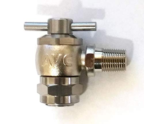 Accumulator Valve - PA 8708150000 - Accumulator Charging Valve 5/16 (3.07) - 32 UNS-3b Female X 1/8