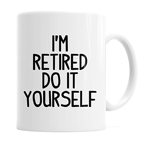 Retirement Coffee (Retirement Party Gift Coffee Mug)