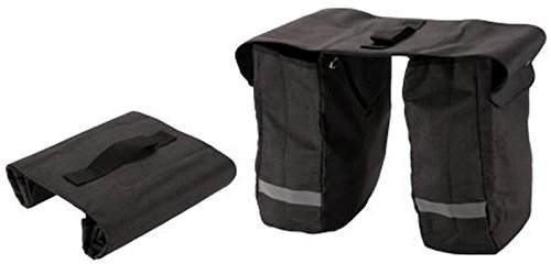 Huffy Cruiser Rollup Rear Pannier Bag Black by HUFY (Image #7)