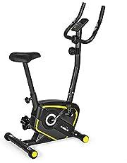 Diadora Fitness Lilly Evo hometrainer, magnetisch, unisex, volwassenen, zwart/geel