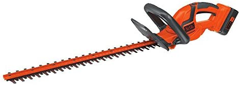 BLACK DECKER 40V MAX Cordless Hedge Trimmer, 22-Inch LHT2240CFF