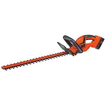 BLACK+DECKER LHT2240CFF 40V MAX Cordless Hedge Trimmer, 22""