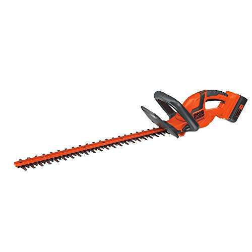 BLACK+DECKER LHT2240CFF 40V MAX Cordless Hedge Trimmer, 22″