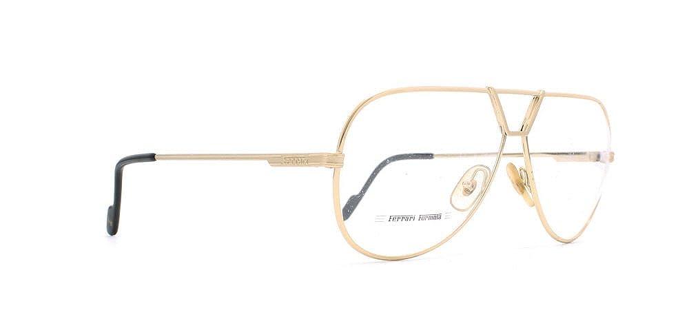 bc76dd4da9 Amazon.com  Ferrari 28 508 Gold Authentic Men Vintage Eyeglasses Frame   Clothing