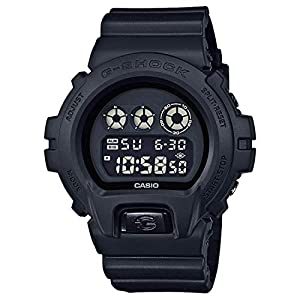 41E2bkaoOjL. SS300  - Casio G-Shock Men's Black Out Basic Series All Black Resin Watch DW6900BB-1