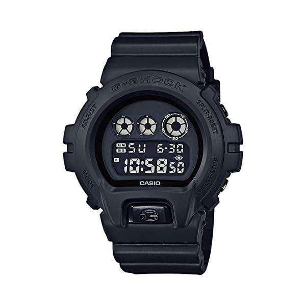 41E2bkaoOjL. SS600  - Casio G-Shock Men's Black Out Basic Series All Black Resin Watch DW6900BB-1