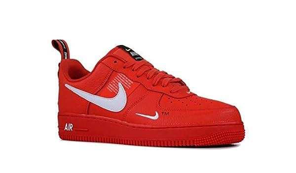 Nike Air Force 1 07 Lv8 Utility - Zapatillas deportivas, color naranja y blanco, naranja/blanco/negro-tour Y, 14: Amazon.es: Deportes y aire libre