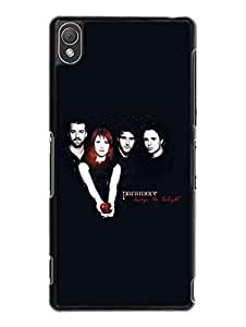 Classical Design Paramore Excellent Band Logo Visual Popular Style Hard Skin Carcasa Para Sony Xperia Z3