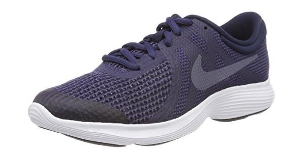 Running Shoes 943309 501 Neutral Indigo//Light Carbon Nike Kids Revolution 4 GS