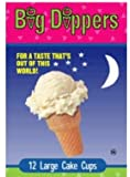 Big Dippers Ice Cream Cones, Large Cake Cups, 12ct, 2.57 Ounce