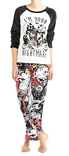 Jack Skellington Christmas Pajamas Set