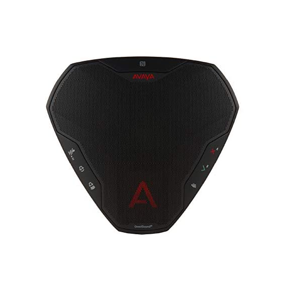 Avaya B109 Speakerphone Conference Phone NFC Bluetooth USB for UC Microsoft, Skype and VoIP Calls