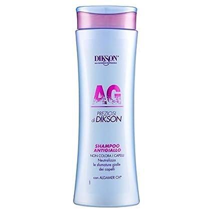 Shampoo antigiallo per capelli colorati