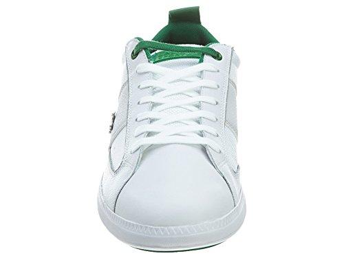 dc846667e Lacoste Mens Observe Bst White Green Sneaker 12 D