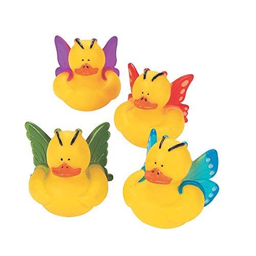 Fun Express 12 Butterfly Rubber Ducks ()