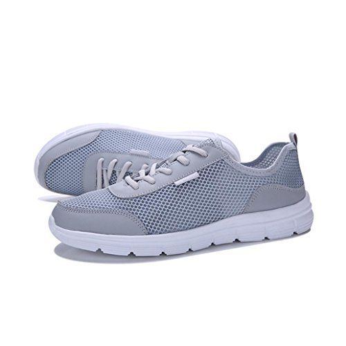 Shoes Schnürung Ultraleicht Herren Btruely Sportschuhe Outdoorschuhe Grau Sneakers Turnschuhe Männer Belüftung Fitnessschuhe Schuhe Couple Atmungsaktiv Sportschuhe Jogging Running Laufschuhe qTAwtvnwS