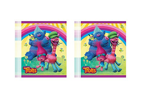 Trolls Snack Pack Treat Bags 16 piece