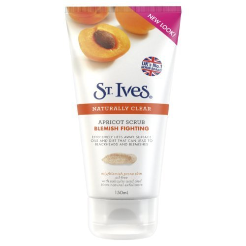 St. Ives Blemish Fighting Apricot facciale Scrub–150ml by Unilever (English Manual)