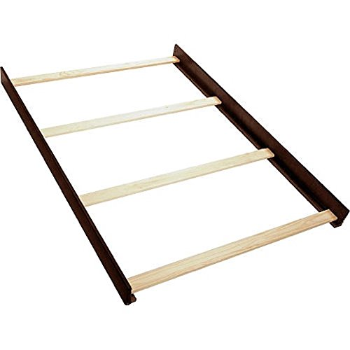 - Full Size Conversion Kit Bed Rails for Simmons/Delta Childrens Adele Lifetime Crib - Caffe