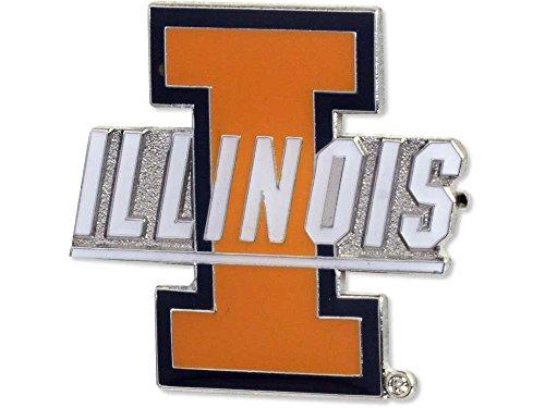 (NCAA Illinois Fighting Illini Logo Pin)