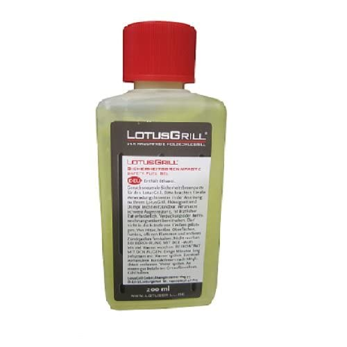 LotusGrill BP-L-200 - Gel bioetanol encendido, 200 ml