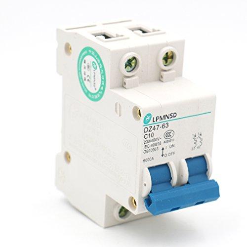Baomain Miniature Circuit Breaker DZ47-63 C10 AC 230V 400V 1