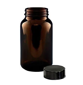 15/ml clair Generic Lab Fournitures Bcp015/C Poudre Flacon en verre col large avec bouchon lot de 140